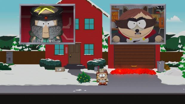 Mächtige Superhelden wie Coon (Cartman) herrschen in South Park. (Bild: Ubisoft/Screenshot: Golem.de)