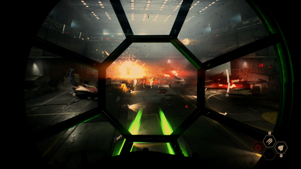 Angriff auf eine feindliche Raumstation (Bild: EA / Screenshot: Golem.de)
