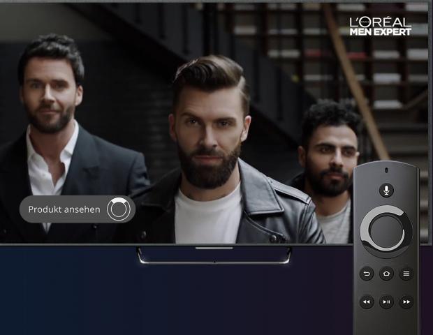 Waipu TV blendet Kaufbutton in Werbeblock ein (Bild: Exaring)
