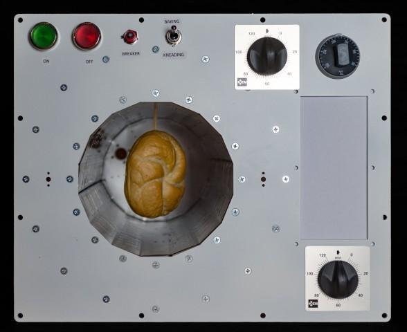 Prototyp des Backofens für die ISS: Darin ist nur Platz für drei Brötchen. (Foto: Bake in Space)