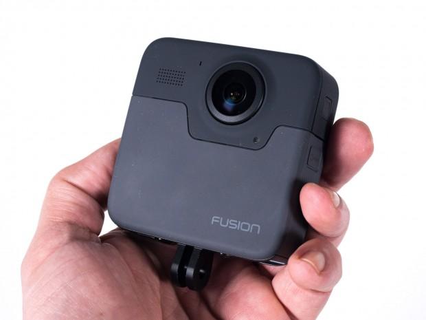 Die Fusion ist Gopros erste 360-Grad-Kamera. (Foto: Martin Wolf/Golem.de)