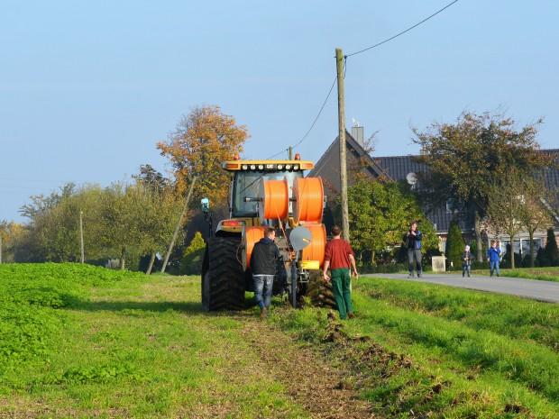 FTTH entlang des Feldes (Bild: Wirtschaftsförderung Kreis Coesfeld GmbH)