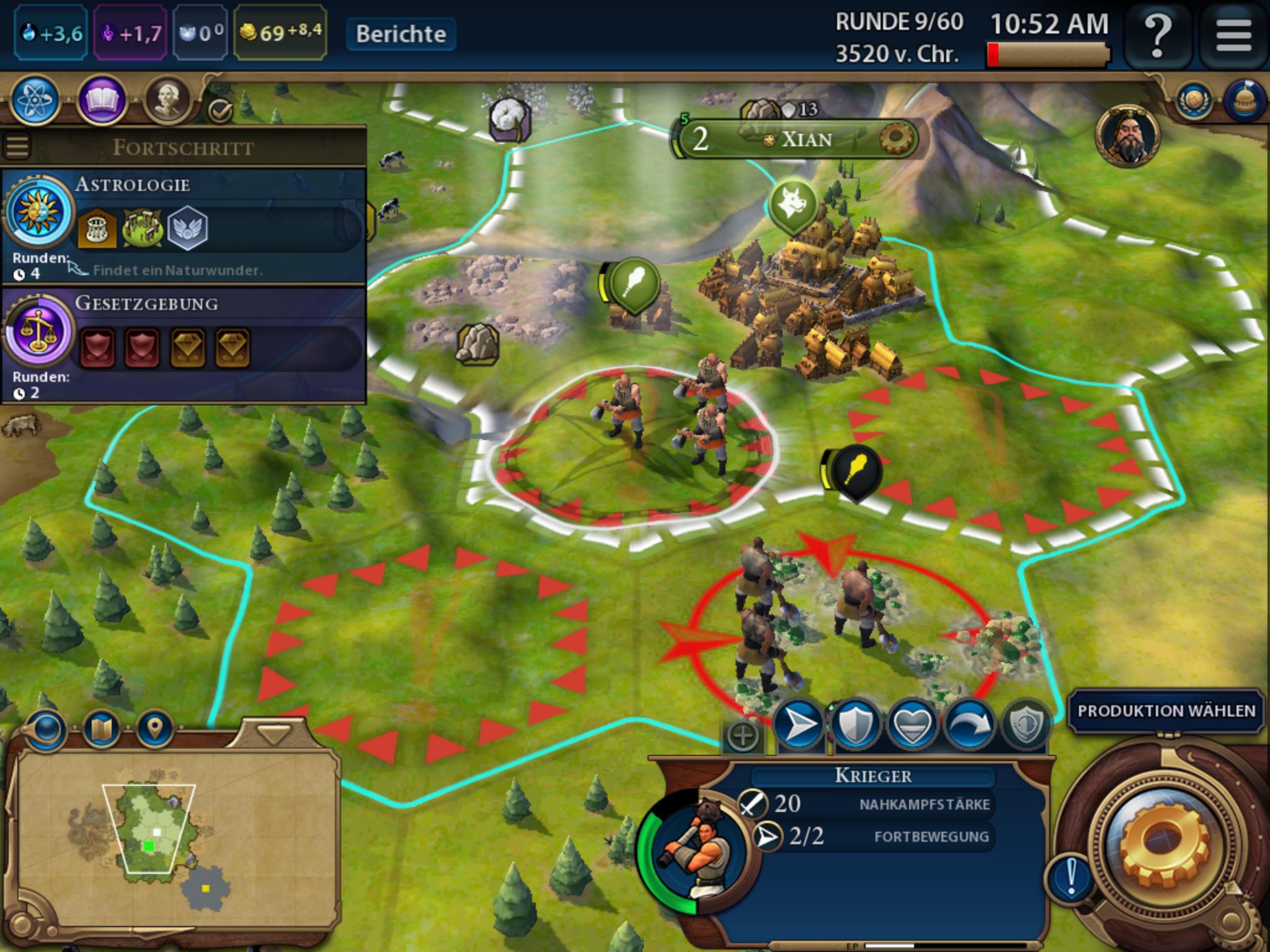 Civilization 6 auf iPad angespielt: Rundenbasierte Spieltiefe erobert Flachdisplay -