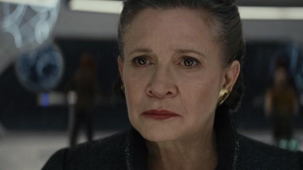 Carrie Fisher in der letzten Rolle vor ihrem Tod im Dezember 2016 (Bild: Disney/Lucasfilm)