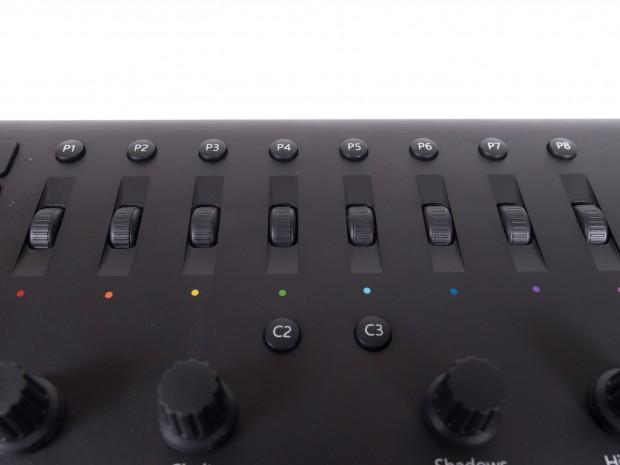 Die C-Tasten lassen sich mit selbst ausgewählten Funktionen belegen. (Bild: Oliver Nickel/Golem.de)