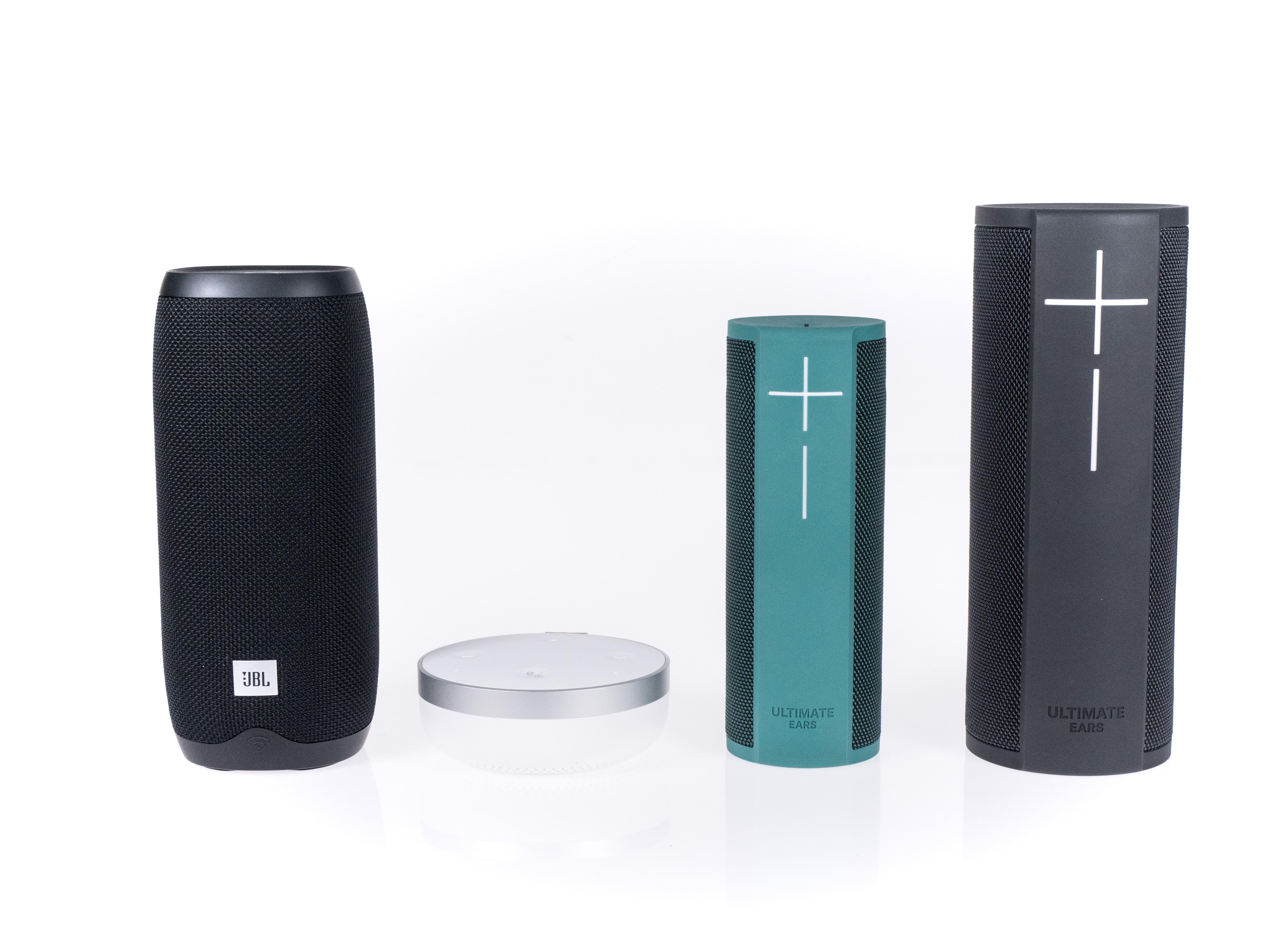 Alexa-Geräte und ihre Konkurrenz im Test: Der perfekte smarte Lautsprecher ist nicht dabei - Alle smarten Lautsprecher mit Akku (Bild: Martin Wolf/Golem.de)