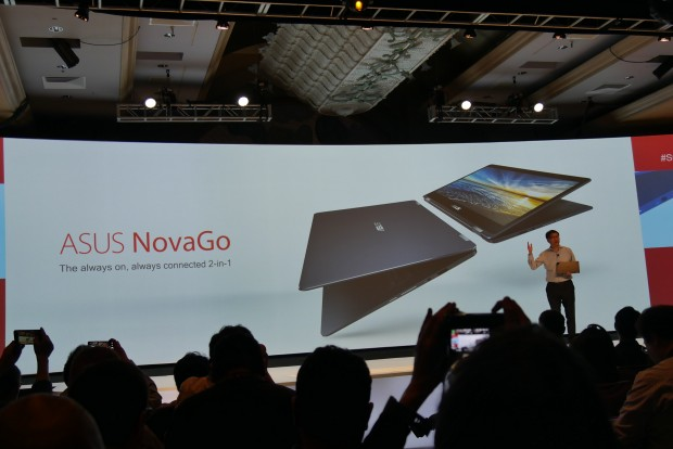 Asus Nova Go mit Snapdragon 835 und Windows 10 on ARM (Foto: Marc Sauter/Golem.de)