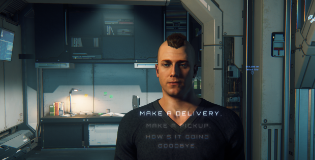 Alpha 3.0 integriert funktionierende NPCs. (Bild: CIG/Screenshot: Oliver Nickel/Golem.de)