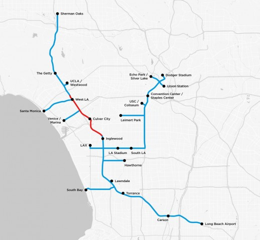 The Boring Company will ein Tunnelnetz unter Los Angeles graben. (Bild: The Boring Company)