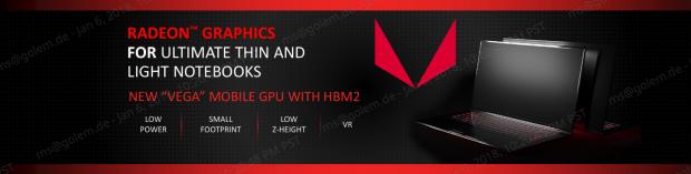 Radeon Vega Mobile (Bild: AMD)