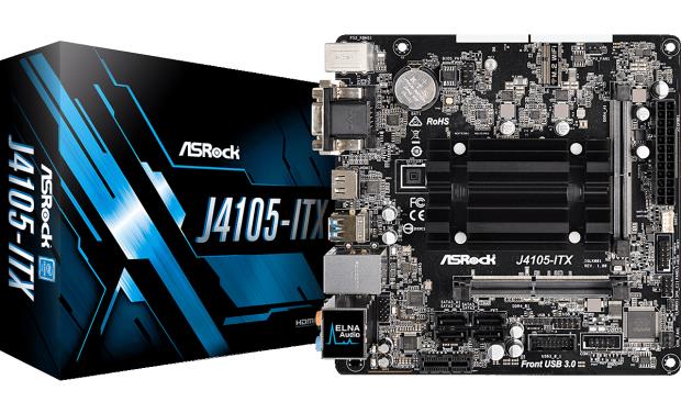 J4105-ITX (Bild: Asrock)