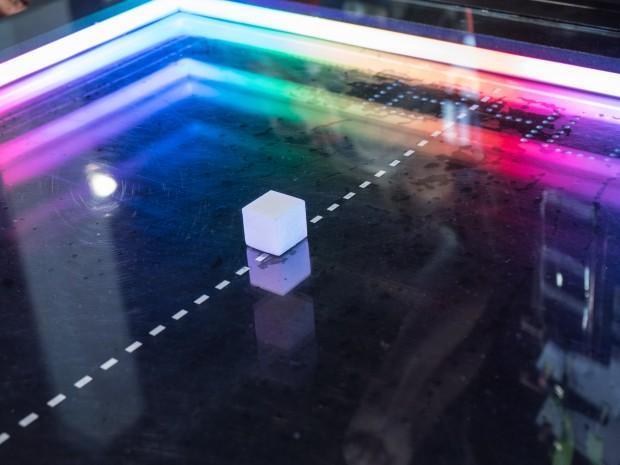 Der Puck des Atari-Pong-Tisches (Bild: Martin Wolf/Golem.de)