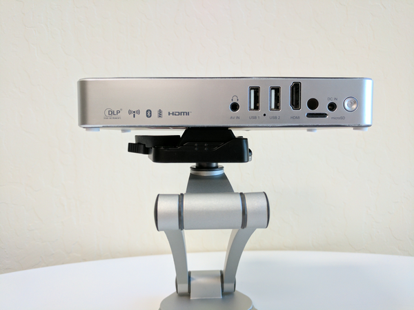 Mirraviz Multiview: Splitscreen-Games spielen ohne die Möglichkeit, zu schummeln - Mirraviz-Projektor. (Bild: Mirraviz)