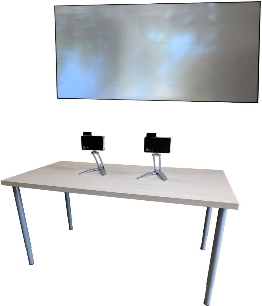 Mirraviz Multiview: Splitscreen-Games spielen ohne die Möglichkeit, zu schummeln - Mirraviz Multiview-Leinwand (Bild: Mirraviz)