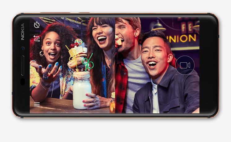 HMD Global: Neues Nokia 6 mit schnellerem Prozessor und mehr Speicher - Nokia 6 (2018) (Bild: HMD Global)
