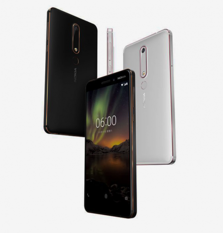 Nokia 6 (2018) (Bild: HMD Global)