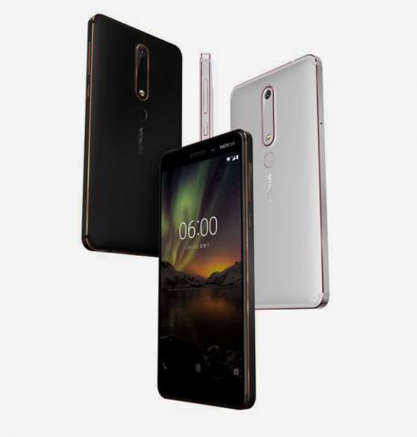 Nokia 6 (2018) (Bild: HMD Global)