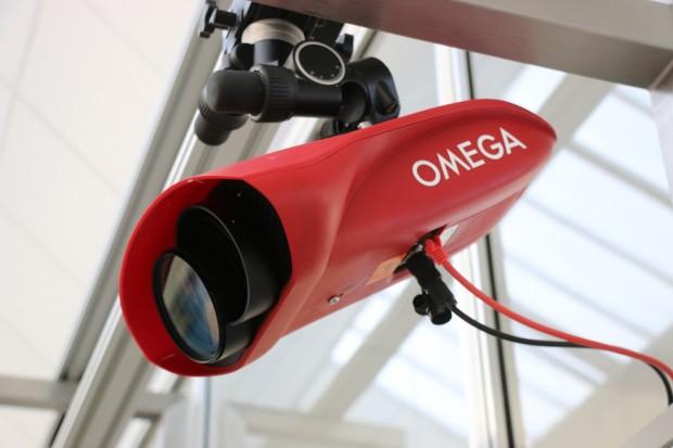 Kamera von Omega Timing für die Zeiterfassung bei Olympischen Spielen (Foto: Peter Steinlechner/Golem.de)