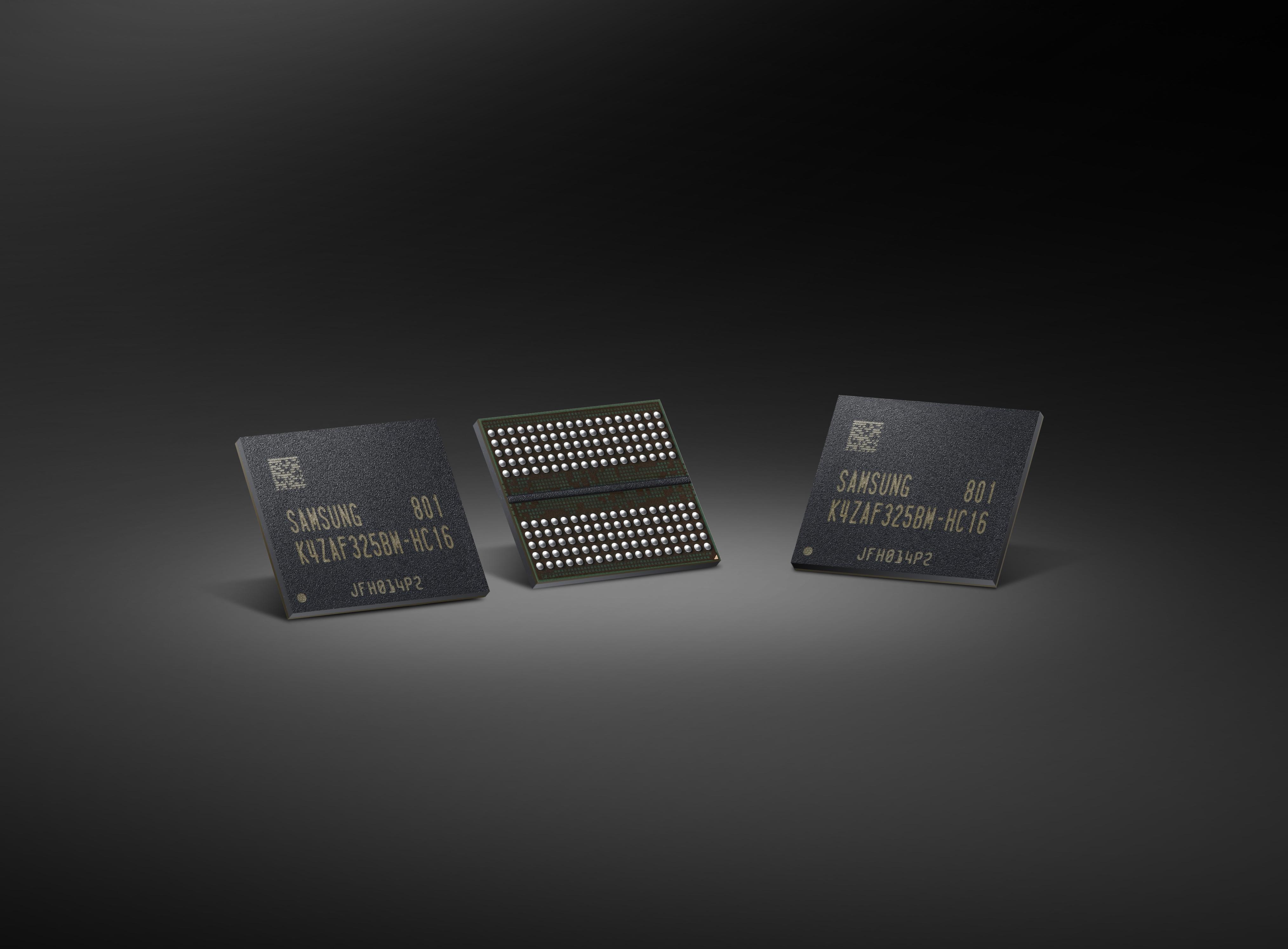 Videospeicher: Samsung liefert GDDR6 mit doppelter Kapazität - GDDR6-Videospeicher (Bild: Samsung)