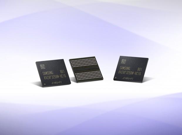 GDDR6-Videospeicher (Bild: Samsung)