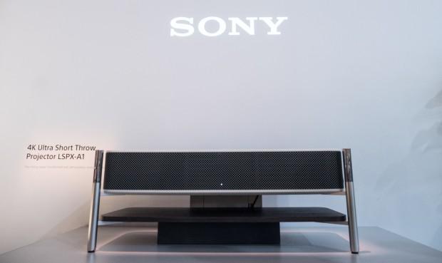 Sonys neuer Kurzdistanzprojektor LSPX-A1 (Bild: Martin Wolf/Golem.de)