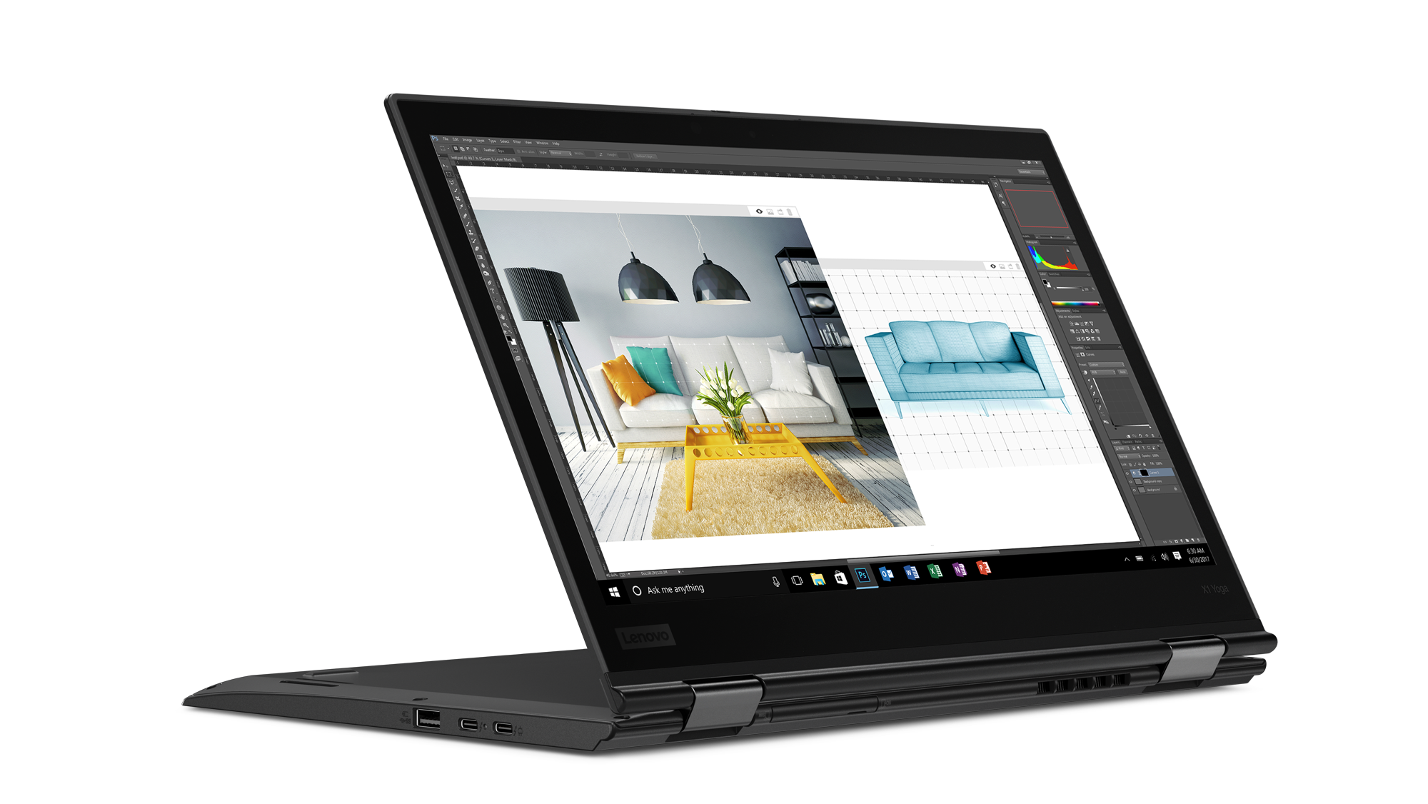 Lenovo Thinkpad X1: Dolby Vision für das Yoga, 3K-Display für das Tablet - Lenovo Thinkpad X1 Yoga(Bild: Lenovo)