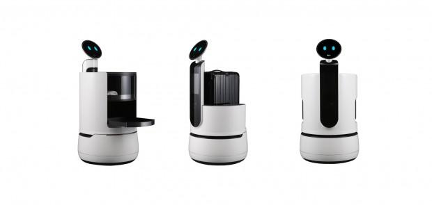 Die drei neuen Service-Roboter von LG (Foto: LG Electronics)