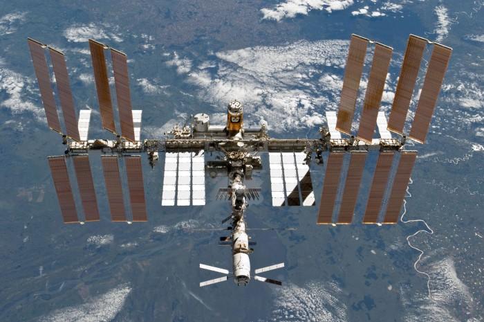 Voraussichtlich zwischen 2020 und 2022 wird Maurer zur ISS fliegen. (Foto: Nasa)