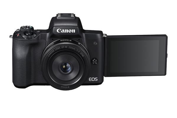 EOS M50: Spiegellose von Canon nimmt in 4K auf - Canon EOS M50 (Bild: Canon)