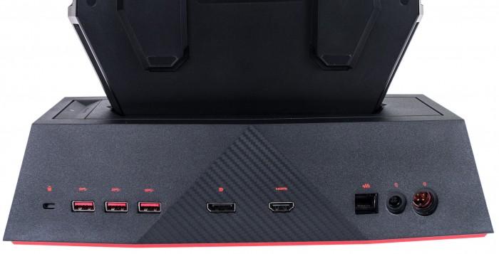 Es erweitert den PC um viele Anschlüsse... (Bild: Martin Wolf/Golem.de)