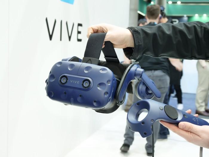 HTC Vive Pro (Foto: Martin Wolf/Golem.de)