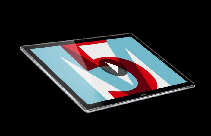 Das Mediapad M5 in 10,8 Zoll (Bild: Huawei)