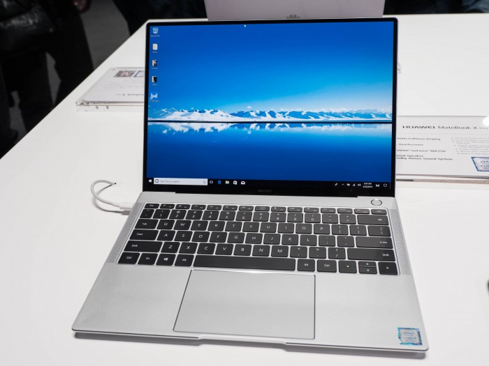 Das Matebook X Pro von Huawei (Martin Wolf/Golem.de)