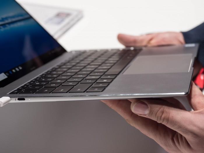 Das Matebook X Pro wiegt 1,33 Kilogramm. (Martin Wolf/Golem.de)