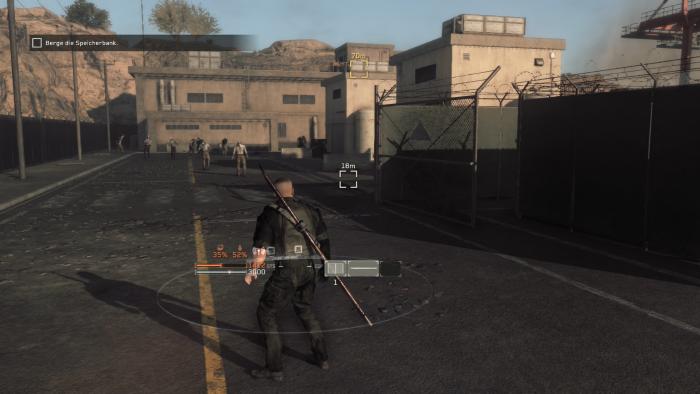 Hier locken wir einen Wandelnden nach dem anderen zu uns und erledigen ihn ohne großes Risiko. (Bild: Konami / Screenshot: Golem.de)