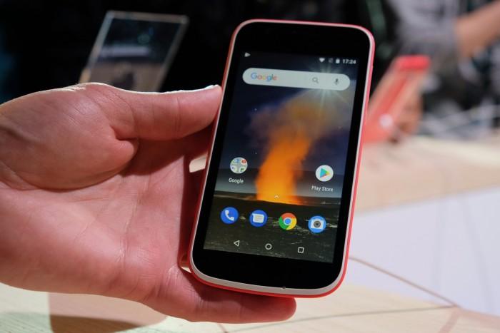 Nokia 1 von HMD Global (Bild: Michael Wieczorek/Golem.de)