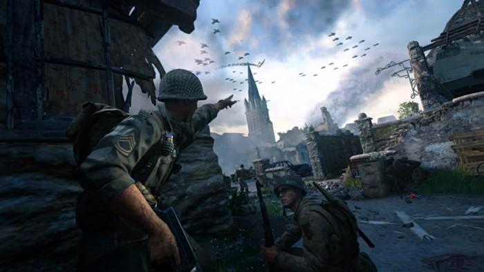 Benchmark-Szene von CoD WW2 (Rechteinhaber: Activision/Screenshot: Golem.de)
