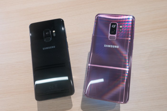 galaxy s9 und s9 im hands on samsungs neue smartphones. Black Bedroom Furniture Sets. Home Design Ideas