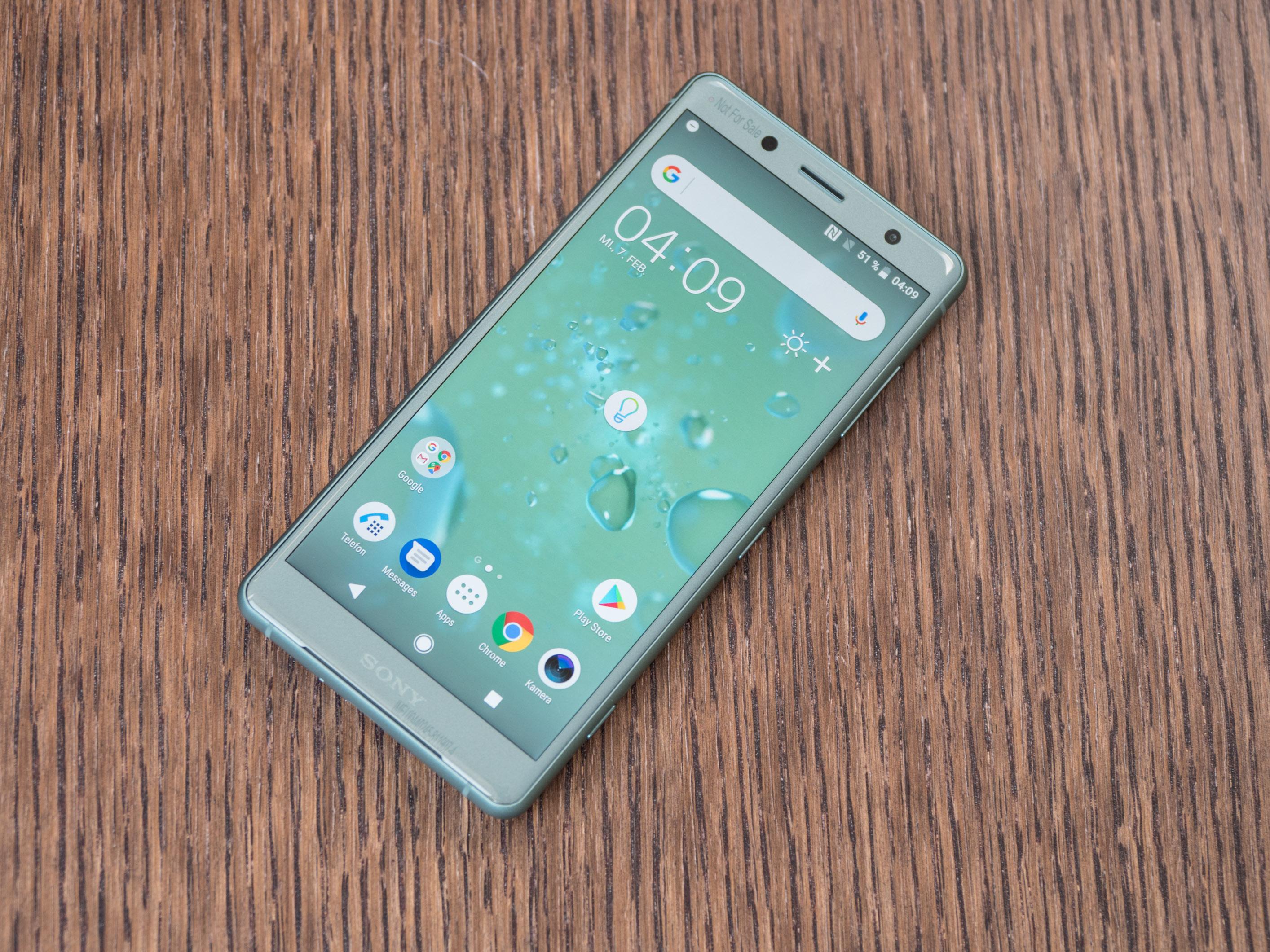 Xperia XZ2 Compact im Hands on: Sony schrumpft wieder das Oberklasse-Smartphone -