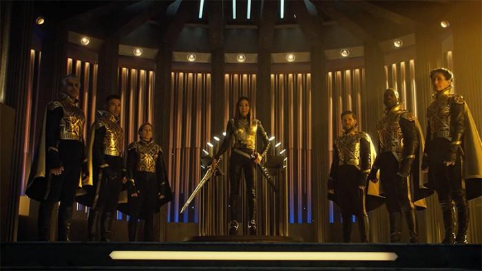 Imperator Georgiou aus dem Paralleluniversum (Bild: CBS)