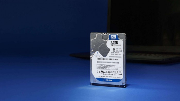 Blue PC Mobile Hard Drive mit 2 TByte (Bild: WD)