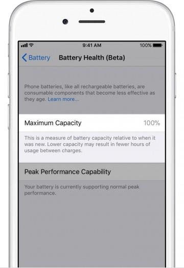 Neue iOS-Funktion Akkugesundheit (Bild: Apple)