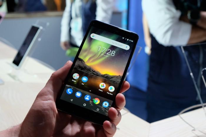 Neues Nokia 6 von HMD Global (Bild: Michael Wieczorek/Golem.de)