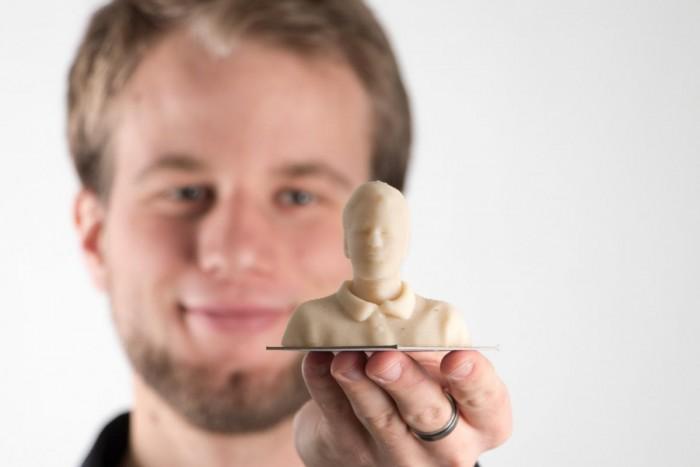 3D-Porträt aus Marzipan (Bild: Procusini)