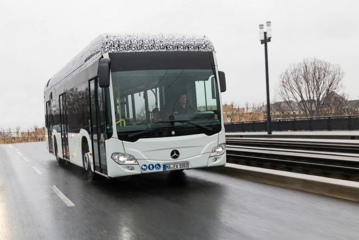 Mercedes Benz Citaro mit elektrischem Antrieb (Bild: Daimler)