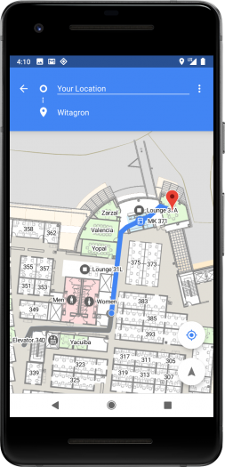 WLAN-Ortung mit Android P (Bild: Google)