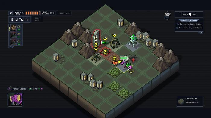Die Kämpfe gegen die Vek finden auf einem sehr überschaubauren Spielfeld statt. (Bild: Subset Games / Screenshot: Golem.de)
