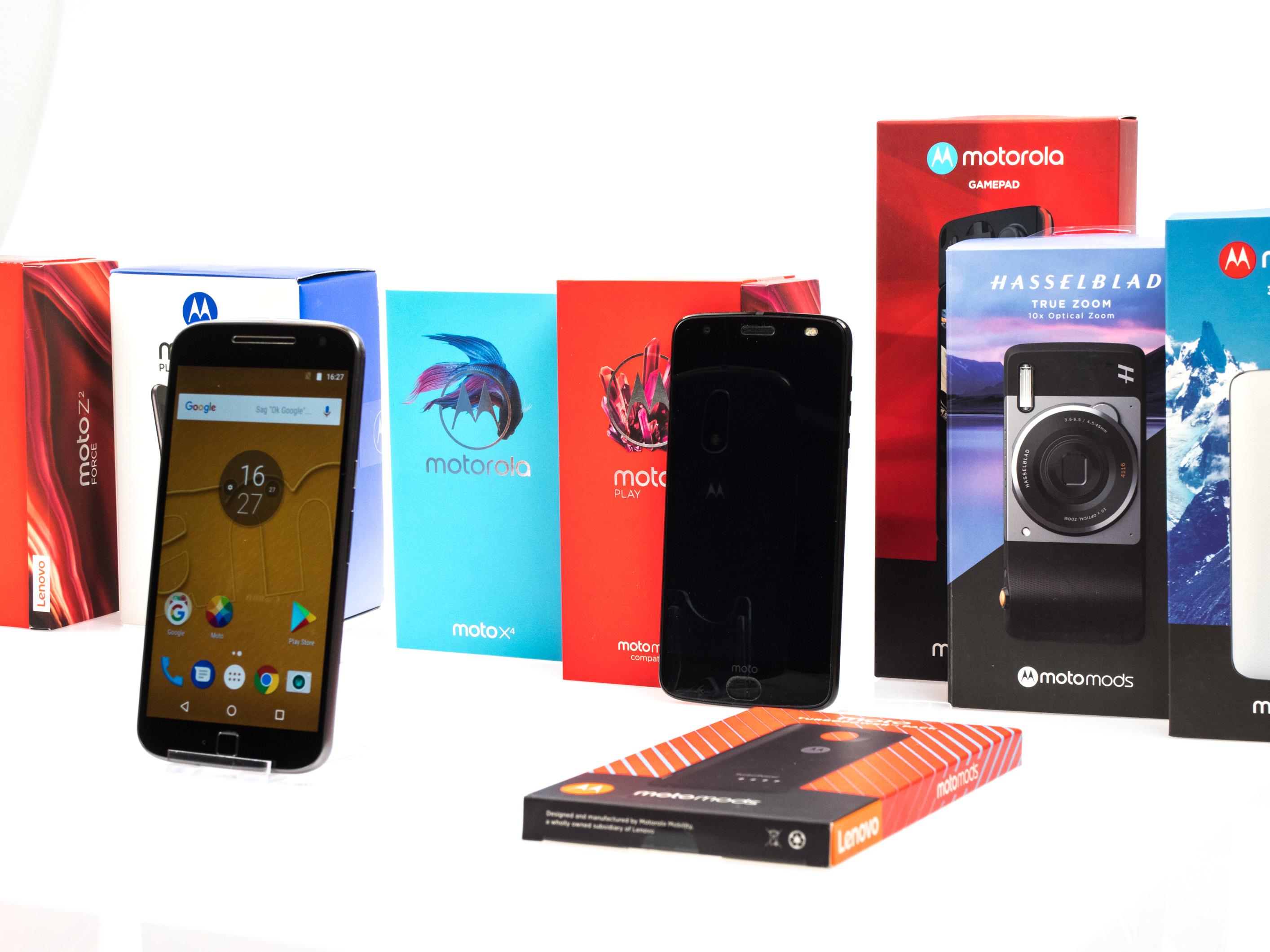 Modulare Smartphones: Lenovo kann Moto-Mods-Versprechen nicht halten - Es gibt deutlich weniger Moto Mods als Lenovo geplant hatte. (Bild: Martin Wolf/Goldm.de)