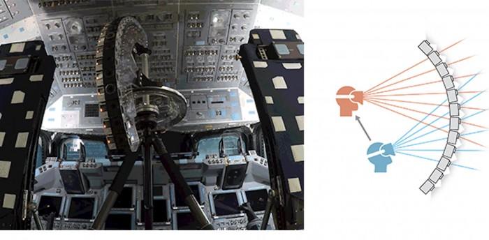 Umgebautes Stativ mit mehreren GoPros (Bild: Google)
