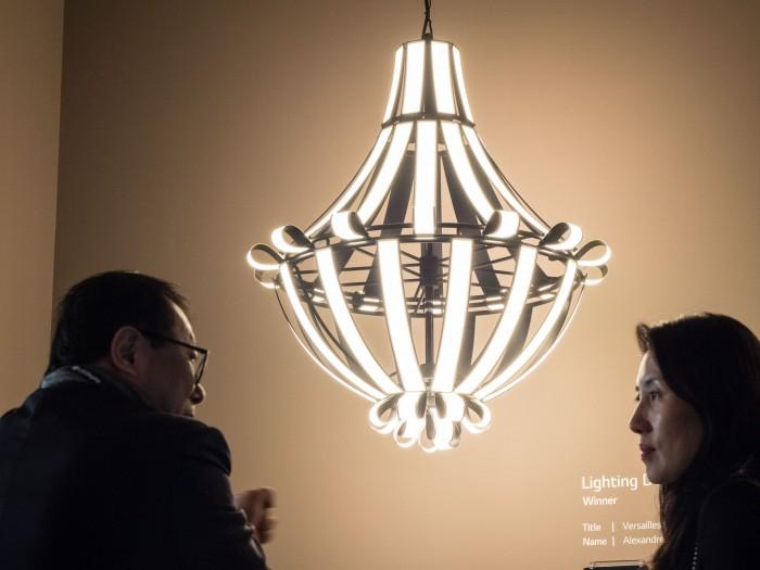 O Daddy Lampen : Oled beleuchtung wabbelig ziemlich hell und doch weiter eine